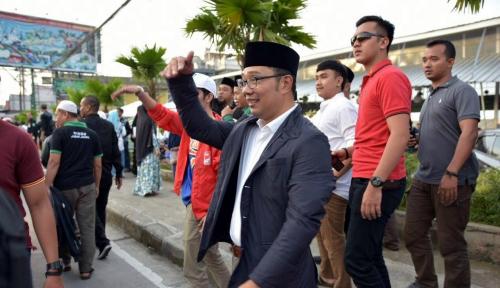 Foto Usai Mudik, Ridwan Kamil Imbau Warga Gunakan Hak Pilihnya