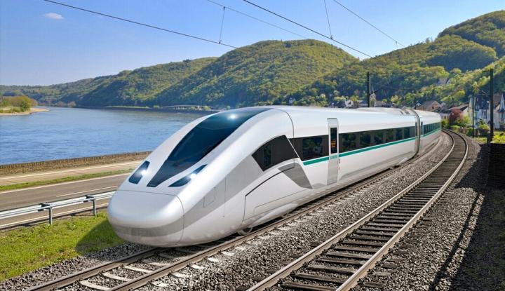 Foto Berita Velaro Novo, Kereta Cepat Baru dari Siemens
