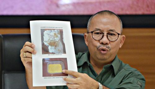 Foto Kasus Peluru Nyasar ke Ruangan Anggota DPR, Ini Dia Pelakunya...