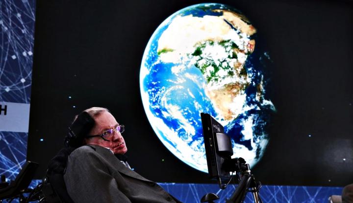 Foto Berita Upacara Pemakaman Stephen Hawking Digelar di Cambridge