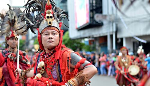 Foto Jelang Perayaan Cap Go Meh, Polres Singkawang Lakukan Rekayasa Lalu Lintas