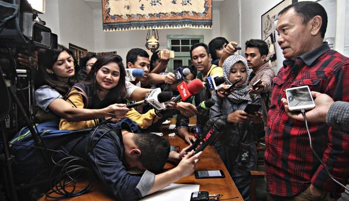 Foto Berita Wartawan Jadi Timses, Dewan Pers: Mundur atau Cuti Sementara!