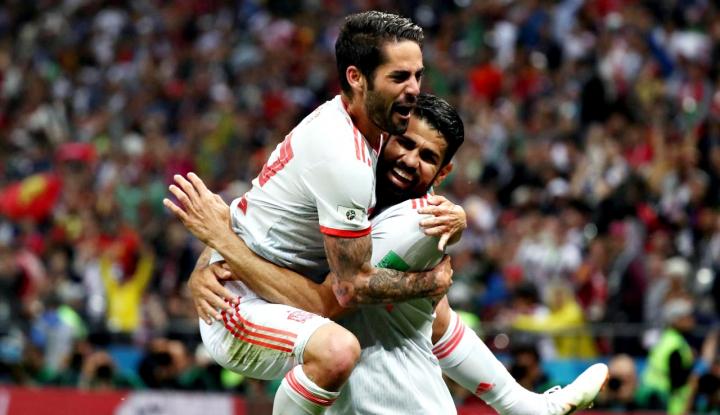 Foto Berita Kenapa Timnas Spanyol Bisa di Puncak Grup B?
