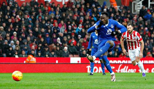 Foto Laga Man United vs Everton Petik Hasil Imbang, Solskjaer: Gol Tidak Sah