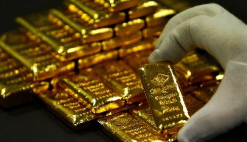 Foto Harga Emas Makin Jeblok, Karena Dolar AS Turun Tipis