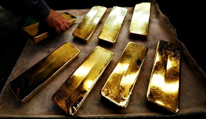 Foto Berita Setelah Jatuh di Kuartal Kedua, Analis Pangkas Proyeksi Harga Emas