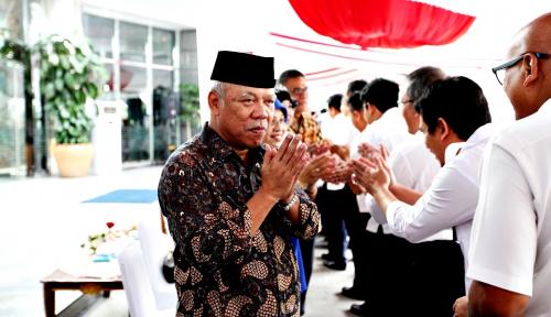 Foto Kemerdekaan RI ke-73 Diperingati Menteri Basuki untuk Mewujudkan Semangat Proklamasi