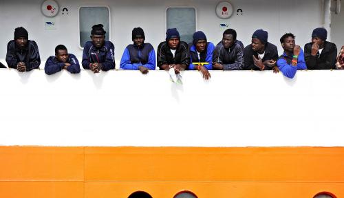 Foto 60 Imigran Tenggelam di Mediterania
