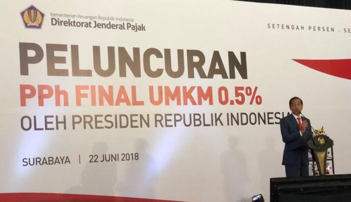 Foto Berita Di Bali, Jokowi Sosialisasikan PPh Final UMKM