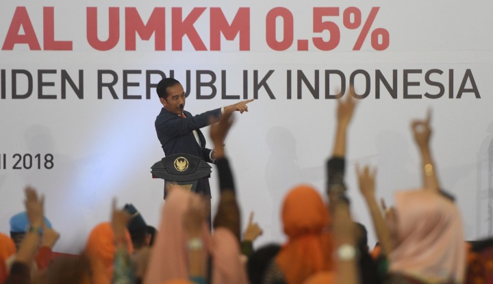 Foto Berita Jokowi Ingatkan UMKM Konsisten Manfaatkan PPh Final 0,5%