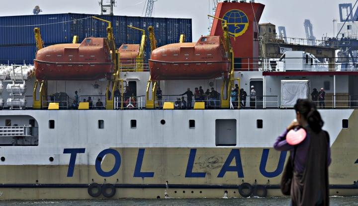 Ini Progres Tol Laut Program Jokowi di Tangan Dirjen Hubla Agus Purnomo