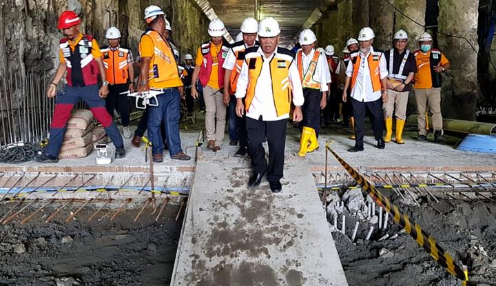 Foto Berita Pembangunan Infrastruktur dan Sumber Daya Air Tahun 2018 Capai Rp13,73 T