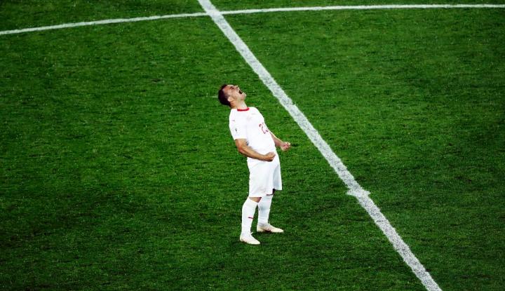 Foto Berita FIFA Bakal Selidiki Selebrasi Shaqiri dan Xhaka