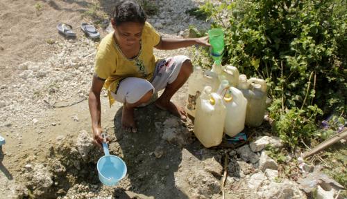 Foto Kupang Mulai Alami Krisis Air Bersih