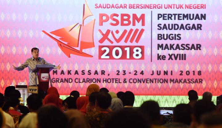 Foto Berita JK Dorong Saudagar Makassar Manfaatkan e-Commerce