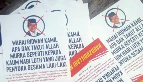 Foto Tim Ridwan Kamil-Uu Bakal Laporkan Penyebar Hoax LGBT