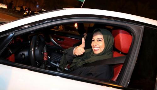 Foto Arab Saudi Izinkan Perempuan Pergi Tanpa Wali, Karena...