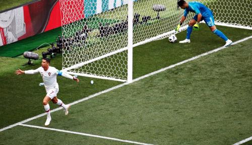 Ronaldo Cs Unggul Sementara dari Swiss
