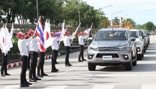 Foto Taktik Thailand Jadi Pusat Produksi Otomotif di Asean