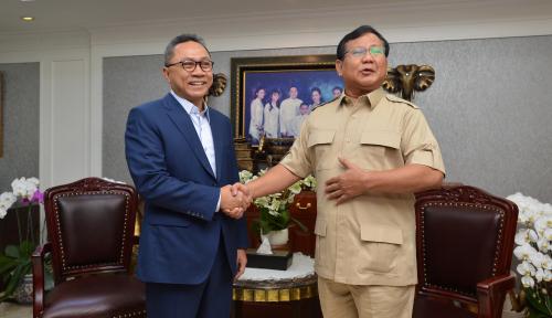 Foto Sudah Siap, Prabowo Sudah Siap Jika Ditanya Soal HAM