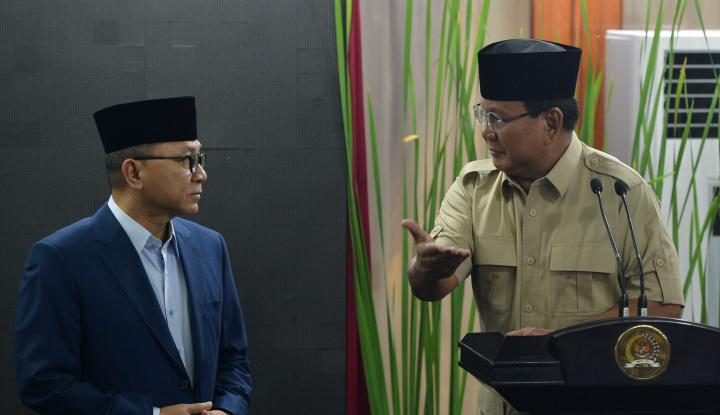 Foto Berita Ikut SBY, Prabowo Imbau TNI-Polri Netral