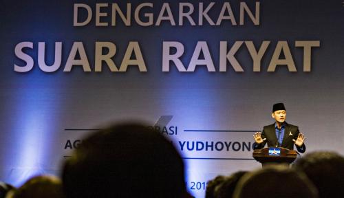 Foto AHY Capek-Capek Safari ke Jatim, Kader Demokrat Malah Pilih Jokowi