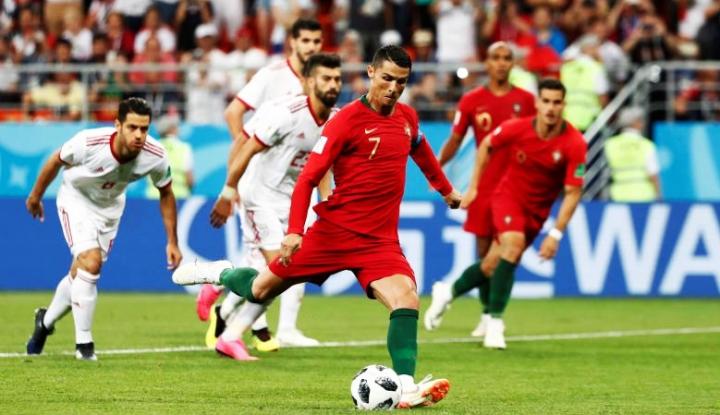 Foto Berita Ronaldo Susul Messi, Gagal Jadi Eksekutor Penalti