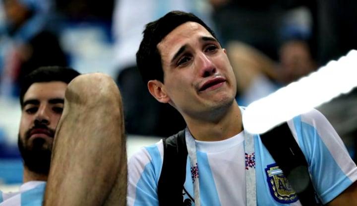 Foto Berita Ini Respons Publik Argentina Usai Kekalahan Messi Cs Kontra Kroasia