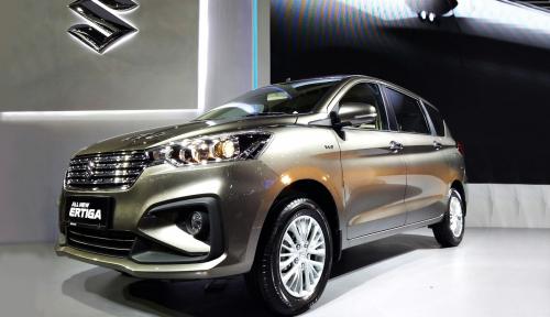 Foto Bidik Pasar Global, Suzuki Ekspor All New Ertiga dan NEX II