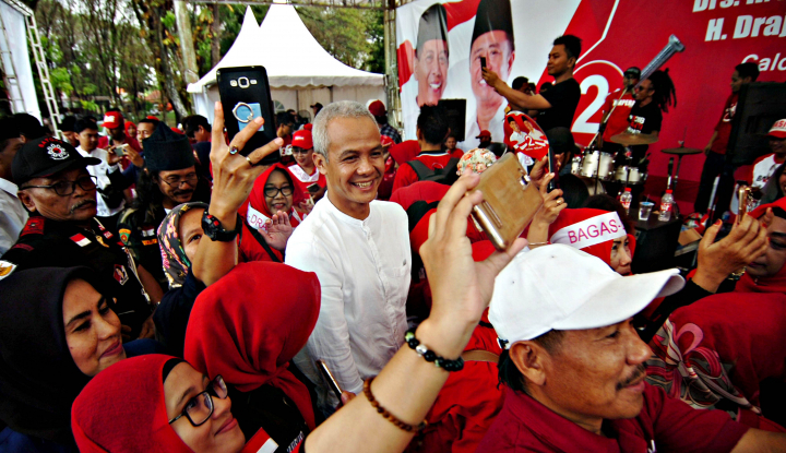 Foto Berita Dari KPK, Ganjar Mau Laporan ke Bu Mega