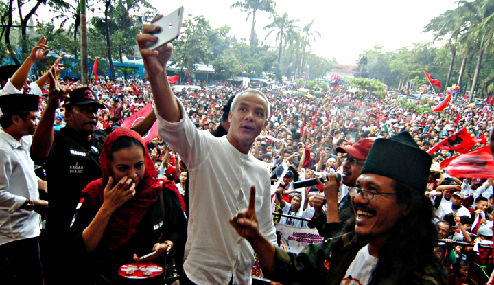 Foto Berita Suara Ganjar di Ring Semen Rembang Anjlok