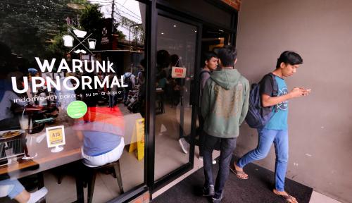 Foto Bidik Kalangan Tech Savvy, Warunk Upnormal Luncurkan Aplikasi Pemesanan