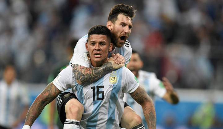 Foto Berita Sampaoli: Messi Senang Bermain untuk Argentina