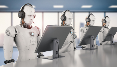 Foto Wuih, Denmark Buka Markas untuk Rekan Kerja Robot