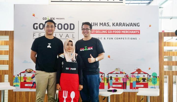 Foto Berita Karawang Tingkatkan Pariwisata Kuliner Lokal Lewat Go-Food Festival