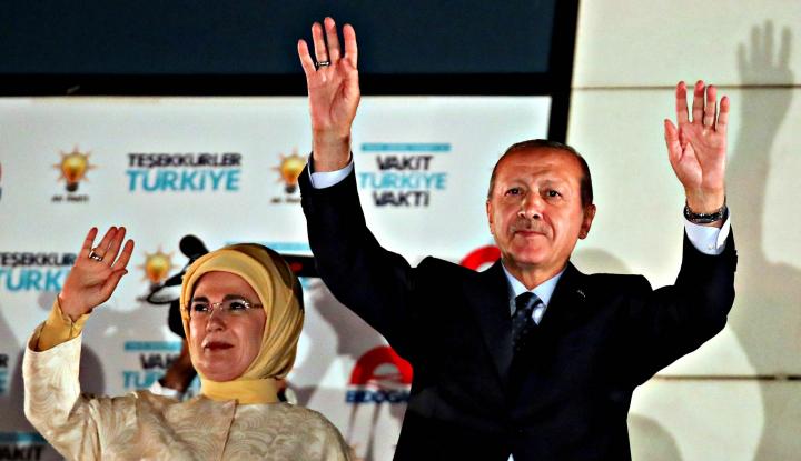 Foto Berita Kematian Khashoggi, Erdogan Bahas Status Kekebalan Diplomatik Arab Saudi
