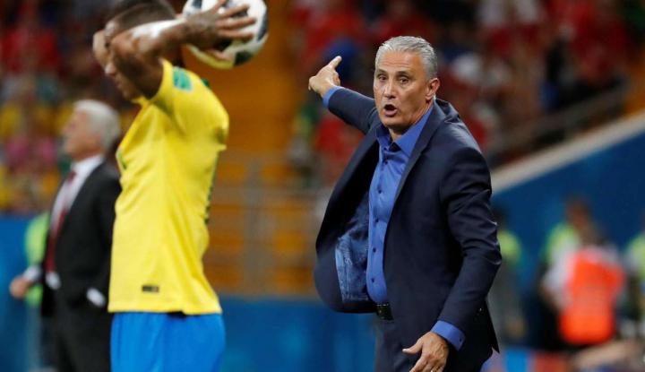 Foto Berita Brazil Punya Kans Juara Piala Dunia 2018, Tite Malah Kelakar Begini