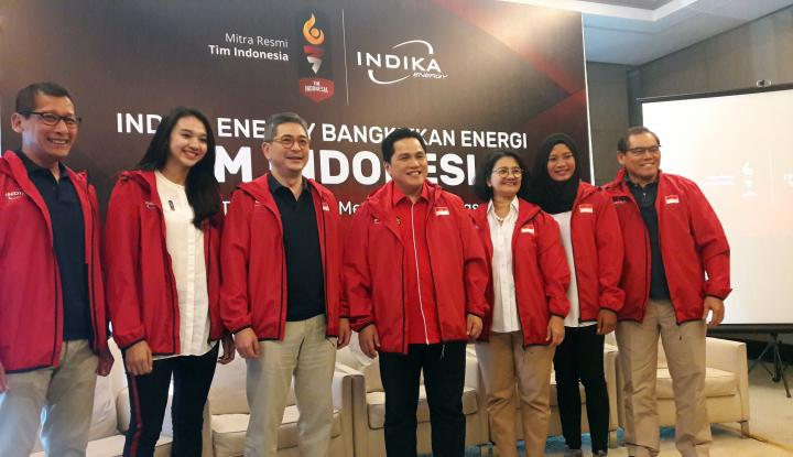 Foto Berita Indika Energy Dukung Tim Indonesia di Asian Games 2018