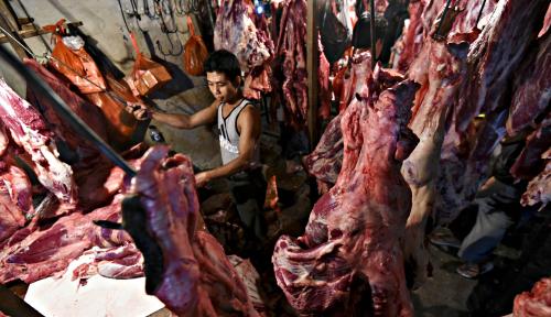 Foto Jual Sate Padang Pakai Daging Babi, Pasutri Divonis 3 Tahun