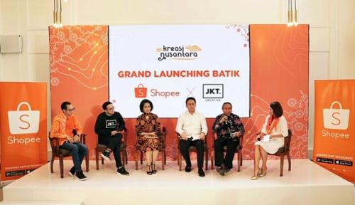 Foto Shopee Resmi Luncurkan Batik Shopee