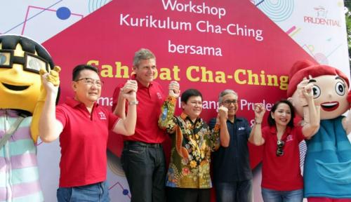 Foto Prudential Edukasikan Kurikulum Cha-Ching ke Pelajar SD