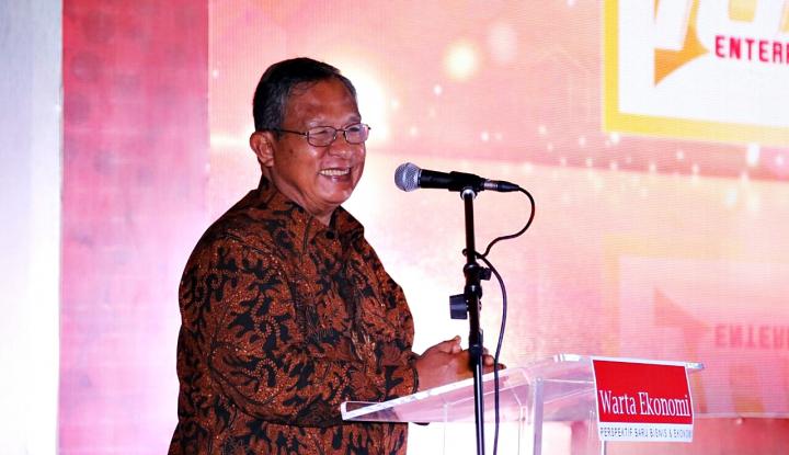 Foto Berita Di Hadapan Jokowi, Menko Darmin Pamer Pencapaian Ekonomi Indonesia