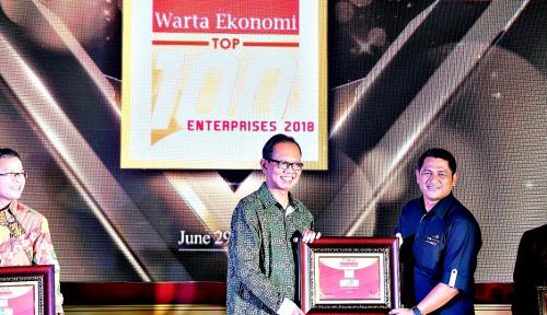 Foto Asuransi Astra Raih Top 100 Enterprises 2018