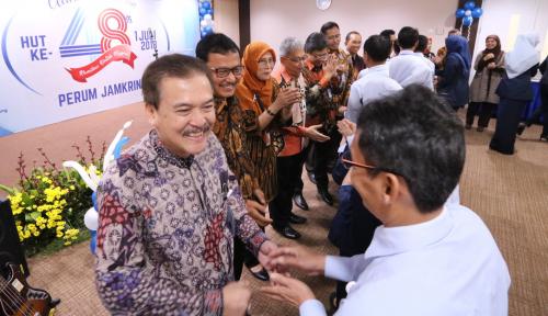 Foto Bos Perum Jamkrindo Kembali Terpilih Menjadi Ketua Asippindo