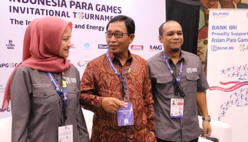 Foto Dukung Atlet Para Games 2018, BRI Jadi Official Partner Sponsor