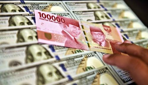 Foto Rupiah Masih Lemah, Dolar AS Tembus Rp14.500