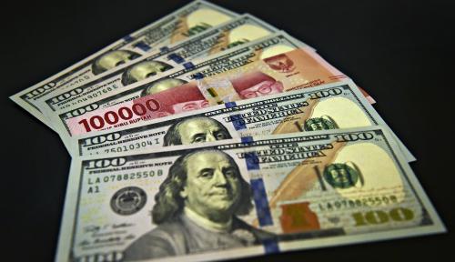 Foto Kurs Dolar AS Melemah