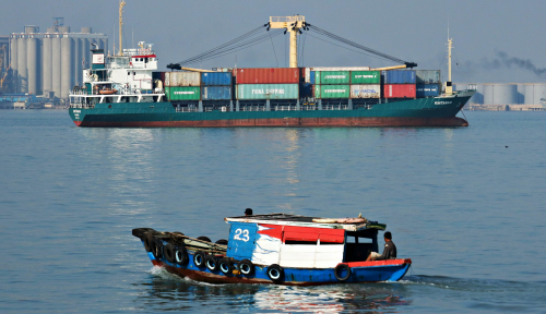 Foto Tidak Surut, Kelapa Parut Sumut Terus Diekspor ke China