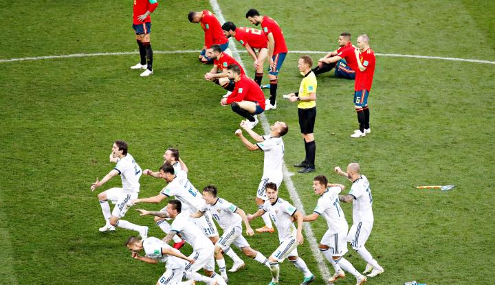 Foto Berita Spanyol Ikut 'Arus Mudik' Bareng 4 Tim Unggulan Lain, Bye!
