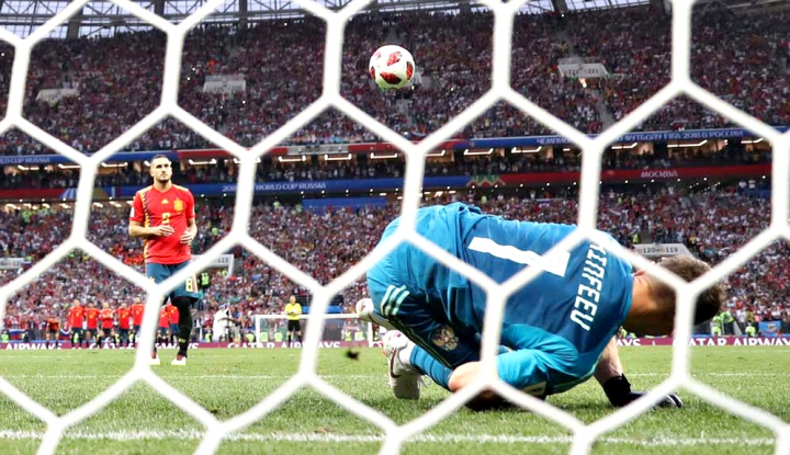 Foto Berita Piala Dunia 2018, Kroasia Akhiri Mimpi Rusia Lewat Adu Penalti